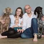 rodinné foto doma Brno